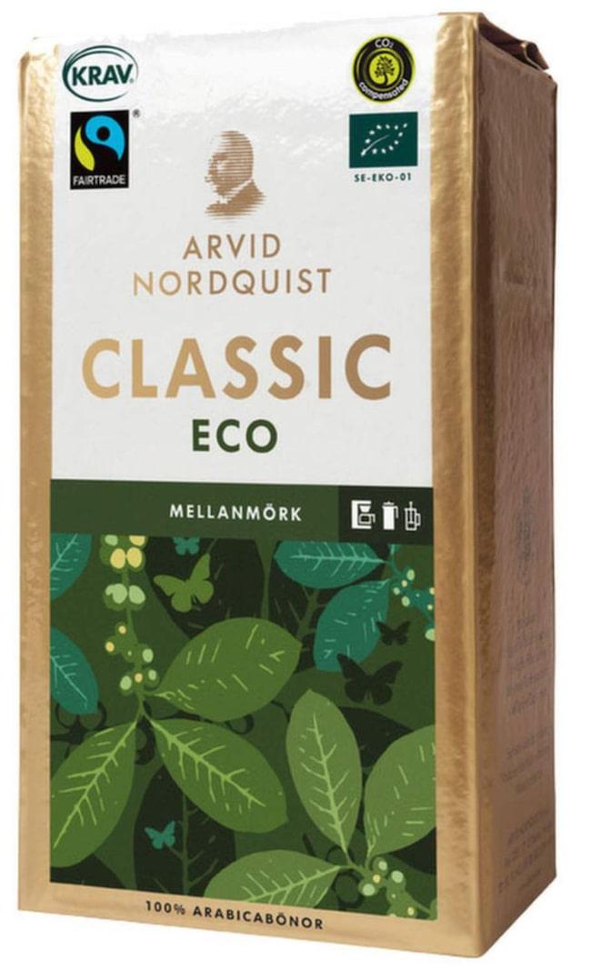 <strong>1 KAFFE.</strong><span>Att köpa ekologiskt kaffe är ett enkelt sätt att göra  stor nytta för lite pengar. På kaffeplantager används nämligen ett av  världens farligaste bekämpningsmedel som länge har varit förbjudet i  Sverige och EU.</span>