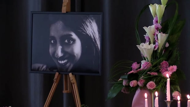 Karolin Hakim fördes till sin sista vila på S:t Pauli norra kyrkogård