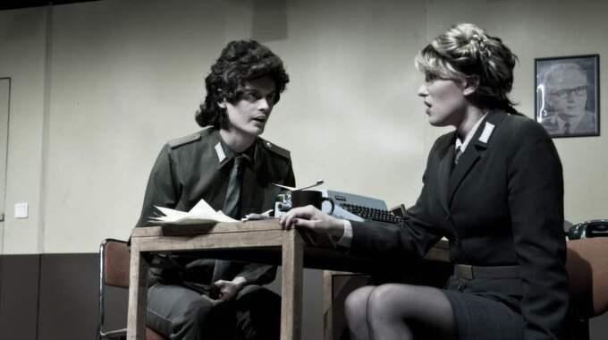 Ny tid. Elsa Ridderstedt (till höger) gör en Mazzeline värd en spin off-opera. Foto: Maximilian Mellfors
