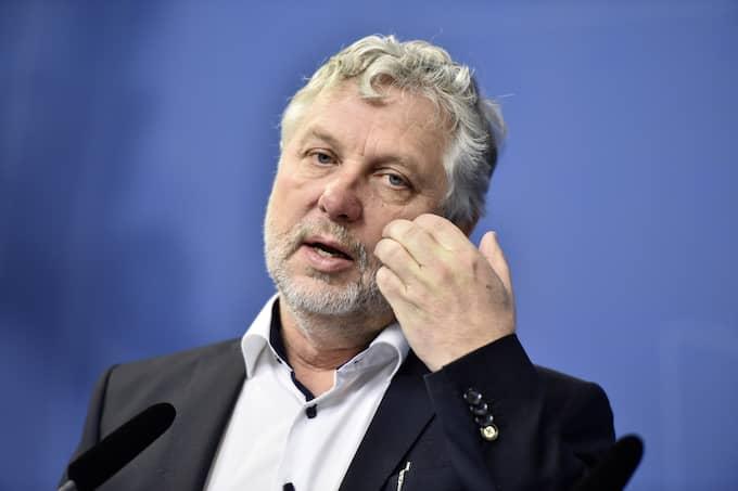 """Peter Eriksson (MP): """"Skrotningspremien gav en väldigt dålig signal om att vi inte ska ha vedspisar eller kaminer allt i framtiden."""" Foto: NOELLA JOHANSSON/TT / TT NYHETSBYRÅN"""
