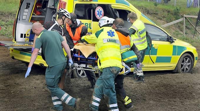 Enligt polisen var alla anhöriga inte underrättade vid 14.50-tiden. Pojkens skador bedöms som väldigt allvarliga, uppger polisen för Expressen.se. Foto: Lasse Sandström