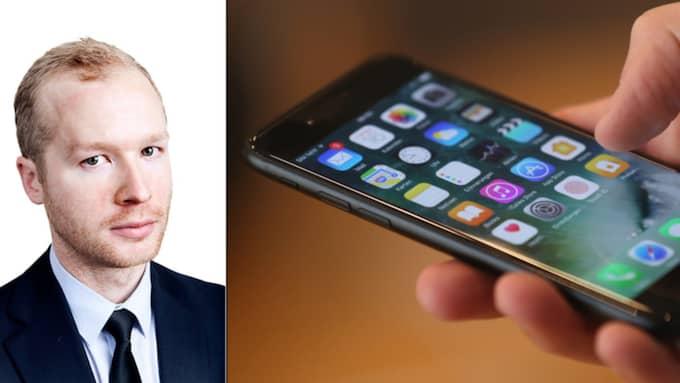 Henrik Ek har koll på din nya Iphone 7 Foto: Getty Images/ Sean Gallup