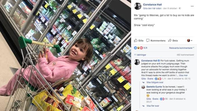 Inlägget kritiserades hårt på Facebook Foto: Facebook
