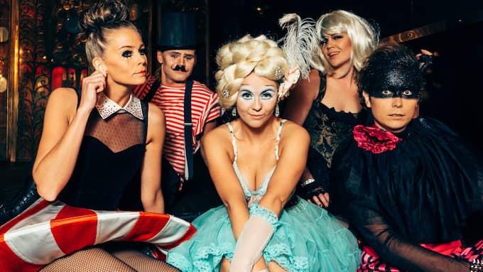 Pop Cirkus på Park Lane Foto: Pressbild