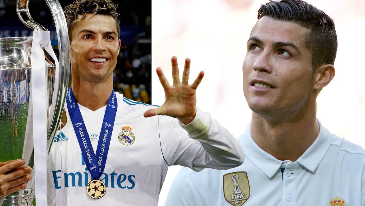 Cristiano Ronaldo är klar för Juventus