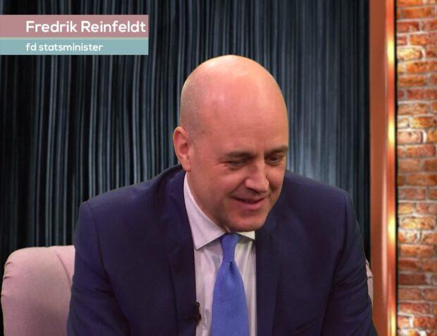 Reinfeldt om kärleksbarnet med Alenius