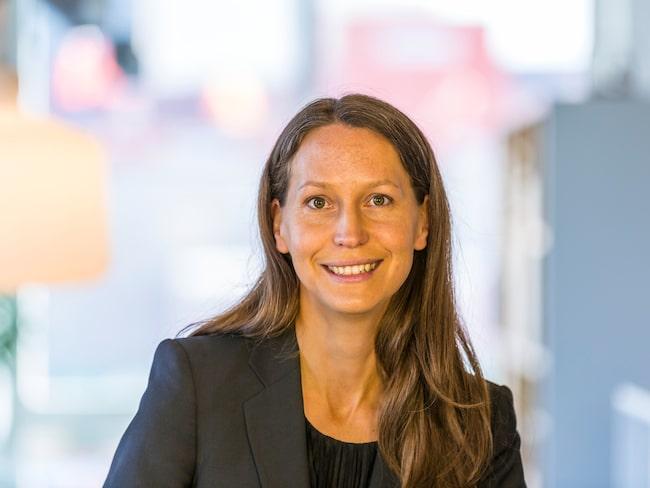 Susanna Hurtig, chef Vattenfall E-mobility Norden.