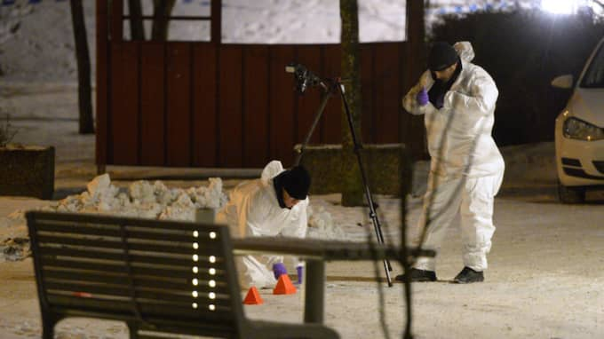 I jakten efter skytten har polisen stött på nya problem. Foto: TT/Anders Wiklund