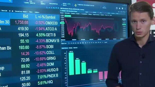 Di Nyheter: Börsen fortsatt ner - Sobi rasar på rapport
