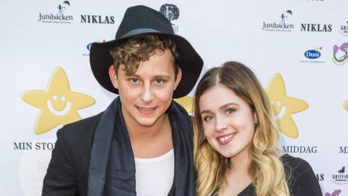 """Nu berättar artisten Amy Diamond, 23, öppet om kärleken till """"Rederiet""""-skådespelaren Charlie Gustafsson, 23. Foto: Pelle T Nilsson"""