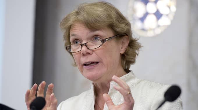 Harriet Wallberg var rektor då skandalkirurgen anställdes och fram till och med 2012. Foto: Roger Vikström