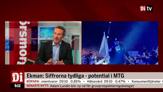 Oskar Ekman ser potential i MTG
