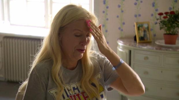 Gunilla Perssons tårar efter operationen