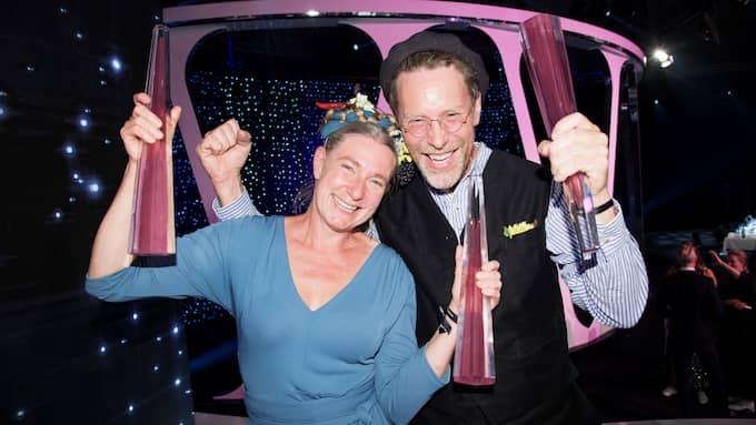 Tv-makarna Marie och Gustav Mandelmann är mycket populära Foto: OLLE SPORRONG