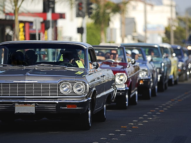 Goda nyheter för bilentusiasterna: Nästa år blir alla bilar äldre än 50 år besiktningsbefriade.