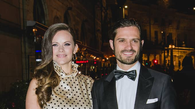 Prins Carl Philip och prinsessan Sofia. Foto: JONATHAN NÄCKSTRAND / TT NYHETSBYRÅN