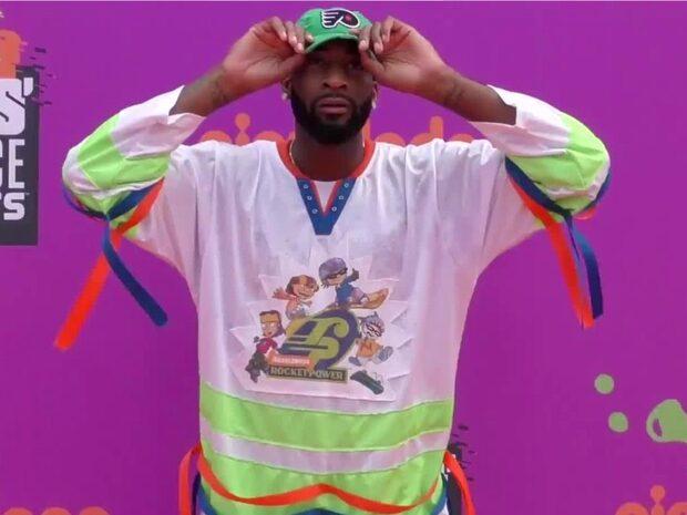 """NBA-stjärnan: """"Blir ledsen om jag får slime över mig"""""""