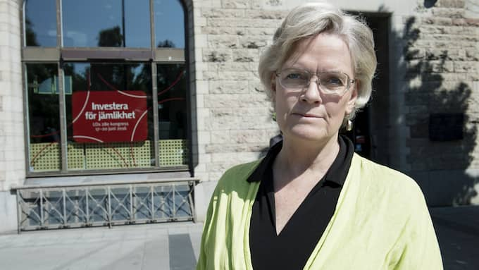 Svenskt Näringslivs vd vd Carola Lemne. Foto: OLLE SPORRONG