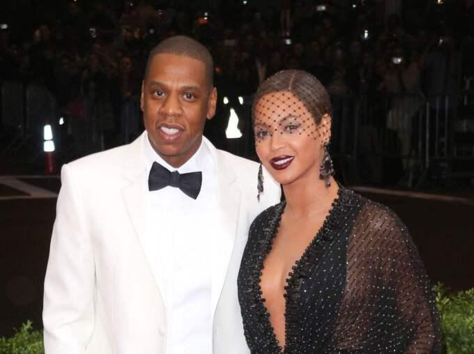Jay-Z och Beyoncé. Foto: Erik Pendzich/Rex