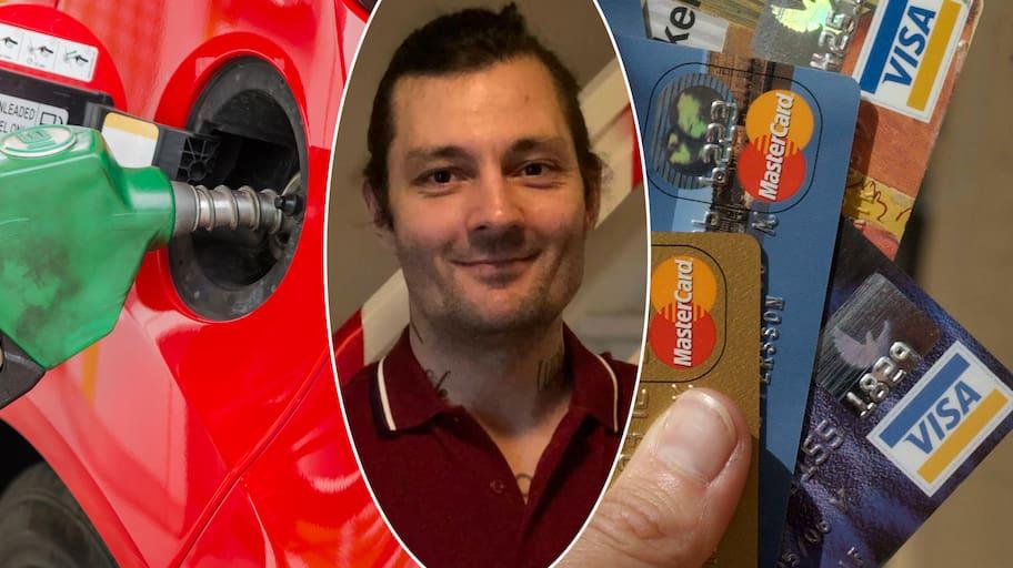 Ilskan: Försökte tanka – då låste bensinmacken Willys kort