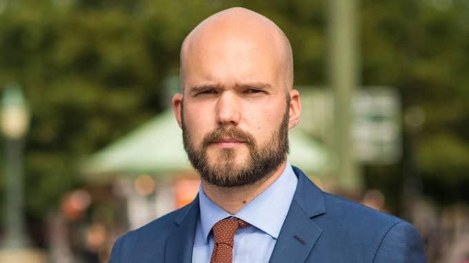 David Josefsson (M) är riksdagskandidat och ledamot i kretsstyrelsen.