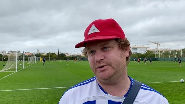 Här är Blåvitts enda supporter i Portugal