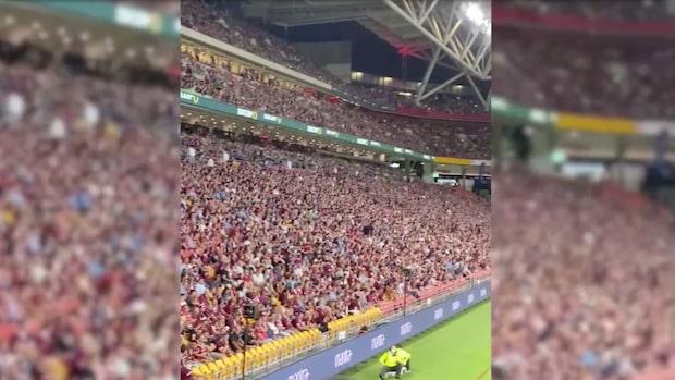 50 000 människor på arenan – efter nedstängningen