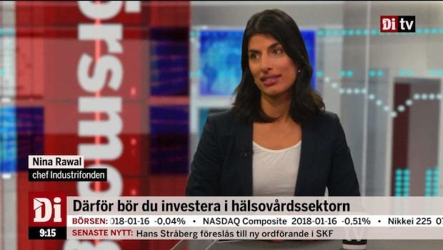 Rawal om investeringar i hälsovårdssektorn