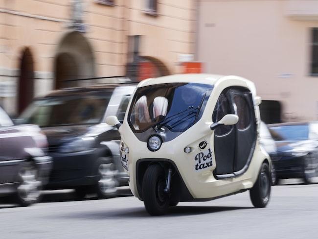 I onsdags lanserades den nya taxitjänsten.