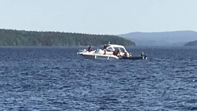 En man dog vid en båtolycka i Arvika tidigare i år. Foto: Magnus Högberg