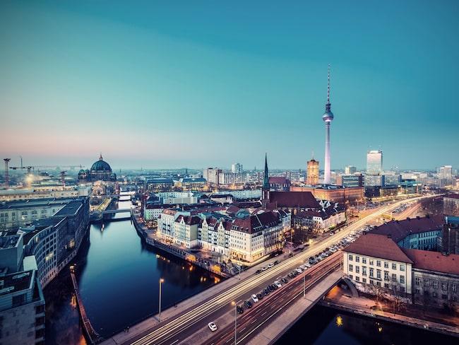 Även Berlin lär locka till sig en del turister, med ett index på 70.