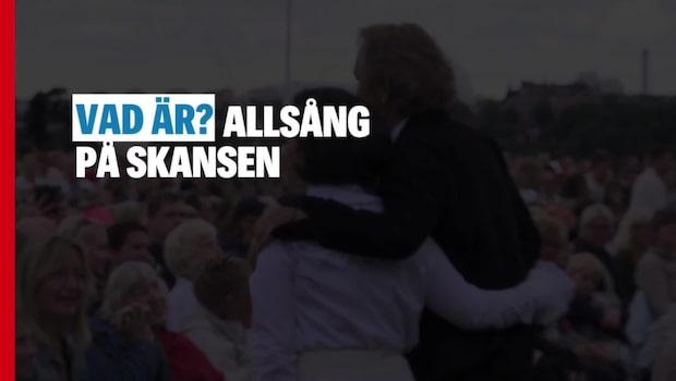 Så startade Allsång på Skansen