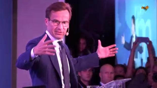 Se hela Ulf Kristerssons tal på valvakan