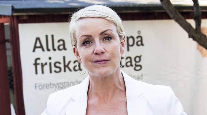 Komikern och SVT-profilen Karin Adelsköld ryter i från på Instagram – och hyllas nu för sitt inlägg. Foto: Lisa Mattisson Exp / LISA MATTISSON EXP