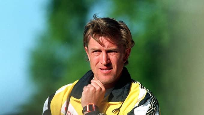 Sergej Prigoda under tiden som Mjällbytränare. Foto: Bildbyrån