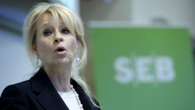 SEB:s. vd Annika Falkengren Foto: Janerik Henriksson/Tt