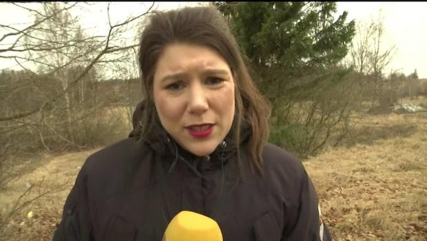 Expressen rapporterar från Malmköping där två hittats döda