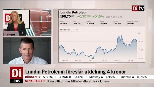 Lundin Petroleums vd, Alex Schneiter, om delåret