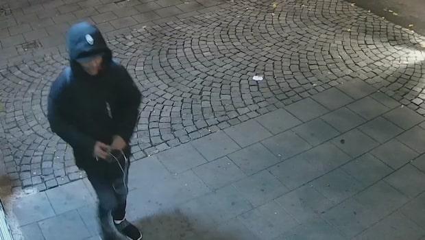 Misstänkt sexbrottsling filmades efter våldtäkt