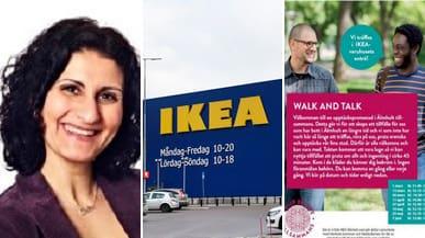 Ikea anordnar promenader för ökad integration