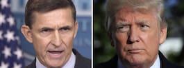 Flynn bryter kontakten med Trump