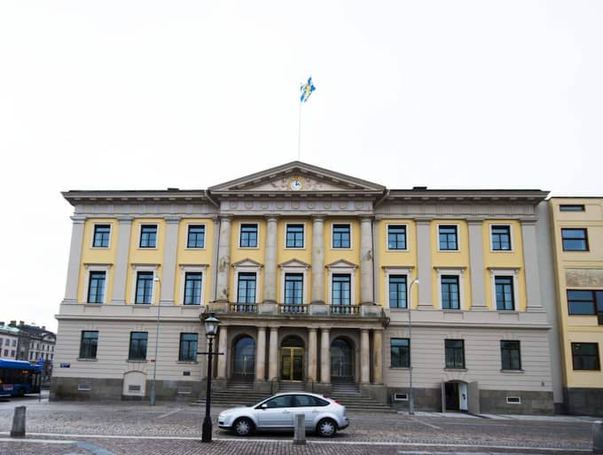 Här sitter Göteborgs politiker. Foto: Robin Aron