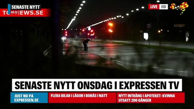 """Skottlossning i Köpenhamn: """"Avfyrats skott från bilar"""""""