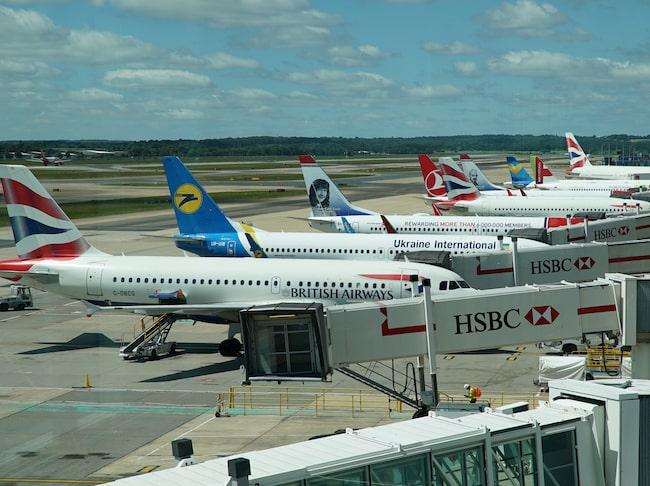 Personal på en av Londons tre flygplatser varslar om strejk.