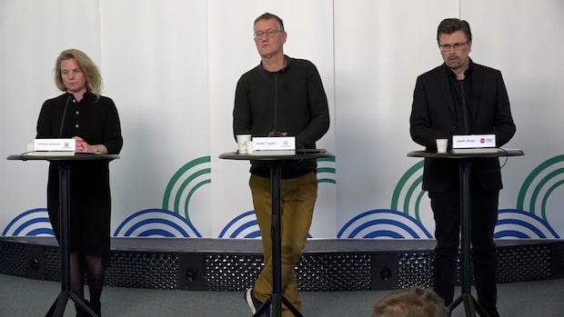 """Anders Tegnell om kritiken:""""Vill absolut förneka"""""""