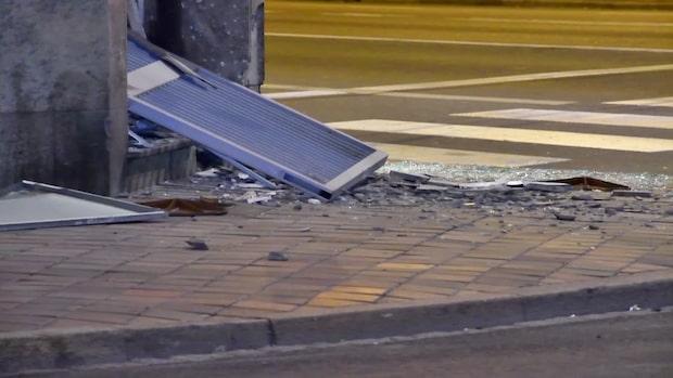 Explosion i Malmö – bombskyddet på plats