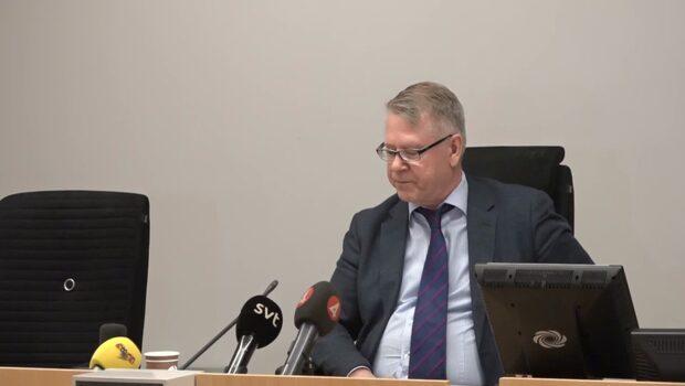 Här meddelar Attunda tingsrätt domen mot Martin Timell