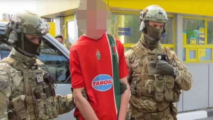 Mannen ska ha planerat 15 terrordåd mot fotbolls-EM. Foto: Ukrainas säkerhetstjänst