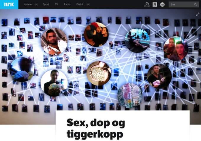 TV-kanalen har granskat tiggarmiljön i Bergen under två år. Foto: Skärmdump NRK