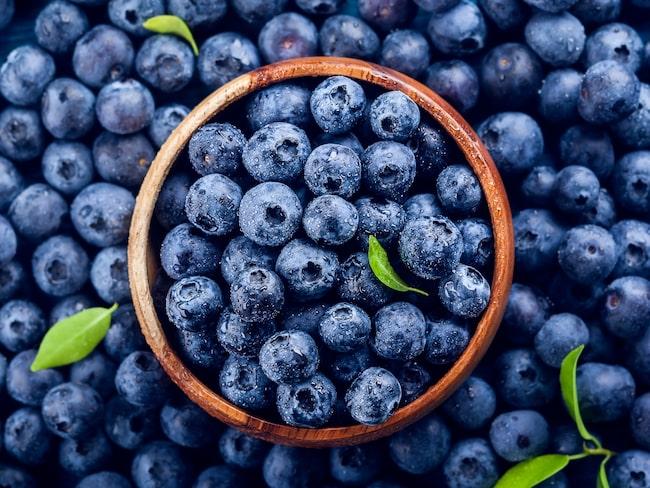 Blåbär har visat sig vara bra för att behandla hjärt- och kärlsjukdomar.